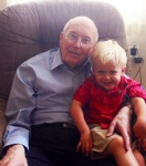 Isaac and Greatgrandpa
