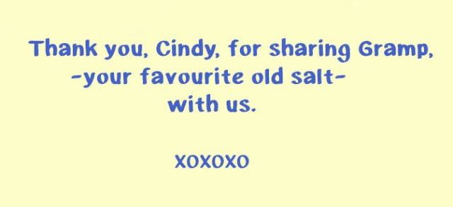 Thank You Cindy
