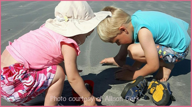 Isaac & Maddie at Beach